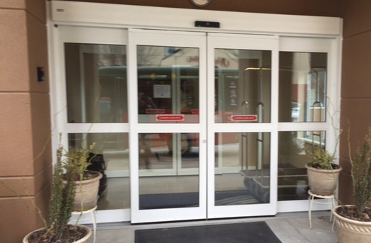 automatic storefront doors