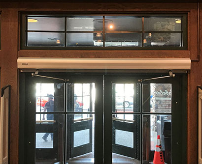 storefront automatic doors